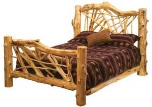 white cedar bed 300x212 white cedar bed