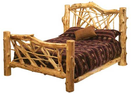 white cedar bed Why is Rustic Furniture Popular?
